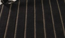 Velvet Stripe Charcoal and Pewter 41
